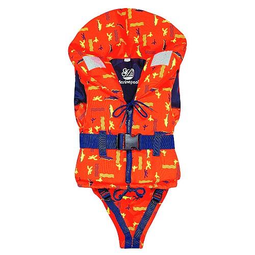 Жилет спасательный для детей Norfin 100NK 10-15кг/оранж.