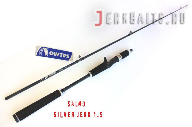 Salmo Elite Silver Jerk 1.5H
