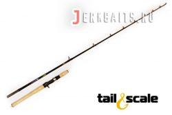 "Tail&scale Jerkbait Plus 6'1"" 2-5oz 30-50lb B 2 pcs"
