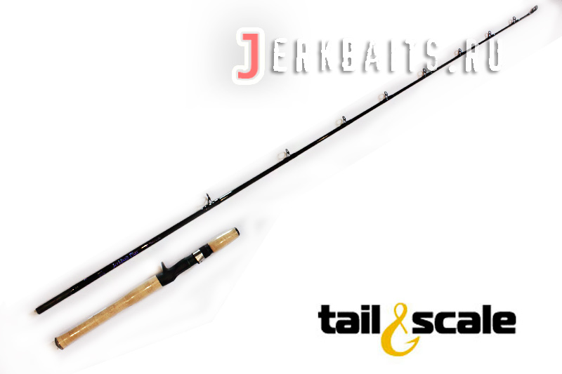 "Tail&scale Jerkbait Plus 5'9"" 2-5oz 30-50lb B 2 pcs"