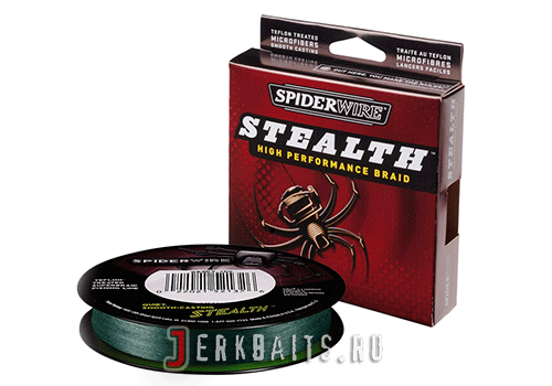 Spiderwire Stealth 137м 0,38мм Moss Green