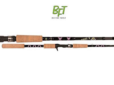 """Спиннинг BFT Piglet 6.6"""" 1,95м 110gr, 2-частник с курком"""