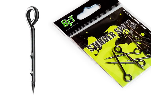 Шип для силикона BFT Stinger Spike barbed с засечками, 30mm, 10pcs