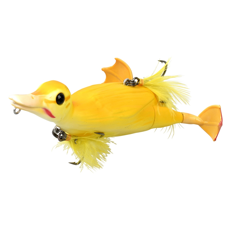 Savage Gear 3D Suicide Duck 105 28g 02-Yellow 53731