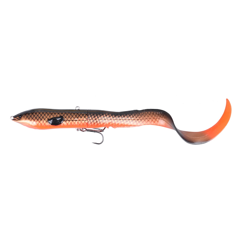 Savage Gear 3D Hard Eel Tail Bait 25 109g SS 09-Red copper Black