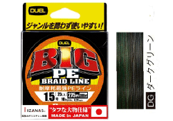 Yo-Zuri Duel BIG PE BRAID LINE 135m Dark Green #8.0 45kg
