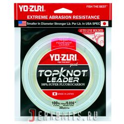 Yo-Zuri-TOPKNOT-LEADER-FLUOROCARBON-100YDS-100Lbs-(0