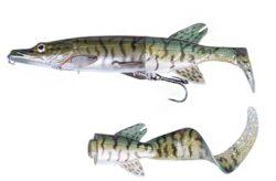 Savage Gear 3D Hybrid Pike 07-Green Silver