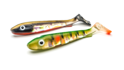 McRubber 21 Flash Series Shiner & Perch