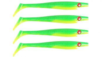 Pig Shad Nano, 150 мм, 21 гр, цвет: Firetiger, (уп./4шт.), (SP-172D#102)