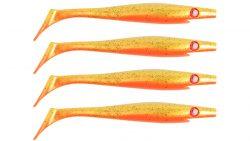 Pig Shad Nano, 150 мм, 21 гр, цвет: Goldie, (уп./4шт.), (SP-172D#107)