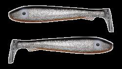 Силиконовая приманка Svartzonker Big McRubber 25, 250 мм, 116 гр, цвет: Rugen, (уп./2шт.), (100501)