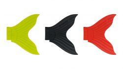 Набор сменных хвостов для воблера Strike Pro X Buster-Chartreuse, Black, Red (3 шт.)