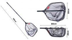 Подсачек-складной-Lucky-John-телескопический-190х50х60см-прорезиненный