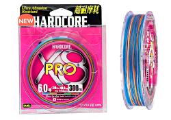 Duel-PE-Hardcore-X8-300m-5Color--multycolor